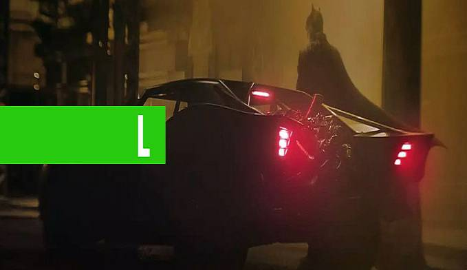 THE BATMAN: MATT REEVES DIVULGA PRIMEIRAS FOTOS DO BATMÓVEL