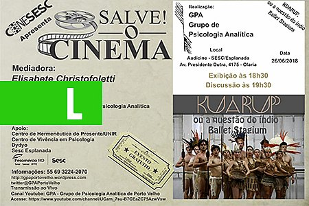 KUARUP OU A QUESTÃO DO ÍNDIO - SALVE! O CINEMA