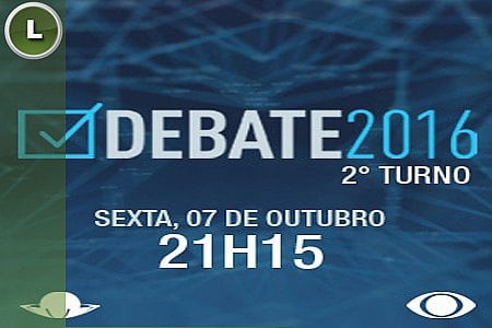 TV MERIDIONAL REALIZA PRIMEIRO DEBATE DO SEGUNDO TURNO
