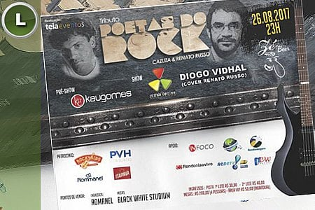 TRIBUTO POETAS DO ROCK