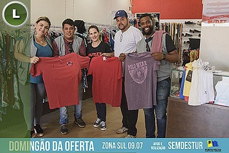 DOMINGÃO DA OFERTA MOVIMENTA  ZONA SUL E AQUECE COMÉRCIO LOCAL